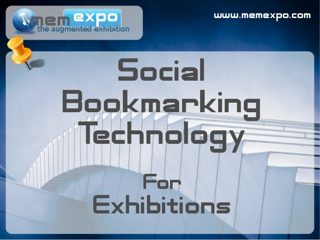 www.memexpo.com Social Bookmarking Technology For Exhibitions