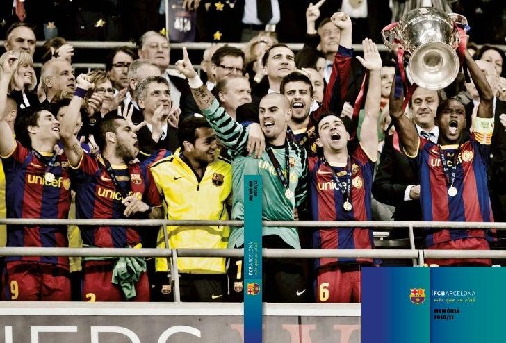 FCBarcelona - Memòria 2010-2011