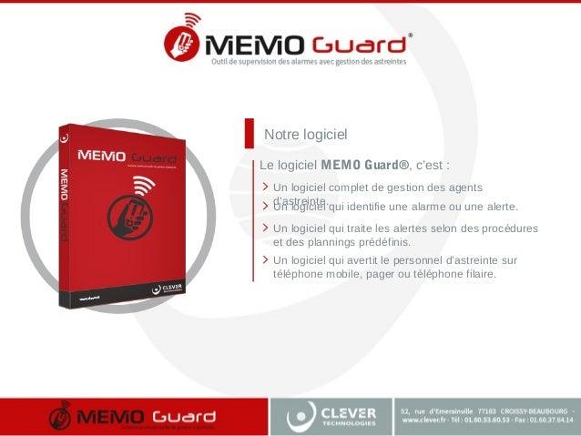 Notre logiciel Un logiciel complet de gestion des agents d'astreinte. Un logiciel qui identifie une alarme ou une alerte. ...