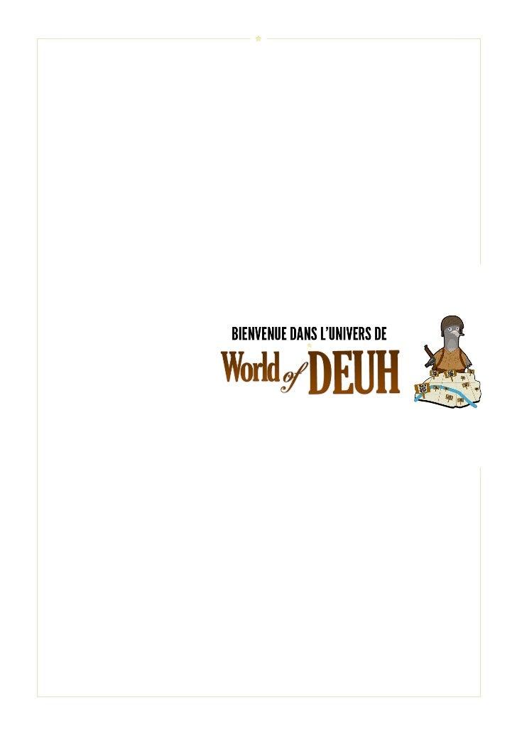 World of Deuh - Mémoire du projet