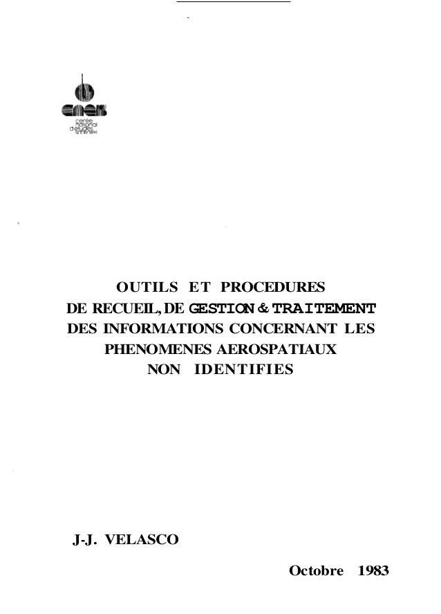 ce ire  d #&&g  OUTILS ET PROCEDURES  DE RECUEIL, DE GESTION & TRAITEMENT  DES INFORMATIONS CONCERNANT LES  PHENOMENES AER...