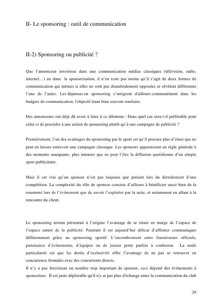 lettre de type demande sponsoring banque