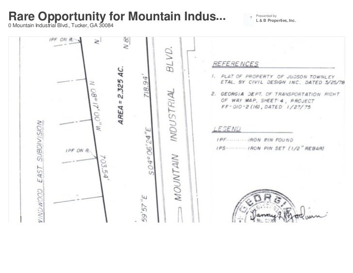 Rare Opportunity for Mountain Indus...          Presented by                                                L & B Properti...