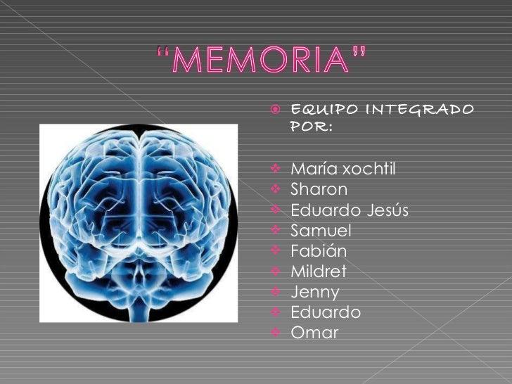 Memoria.