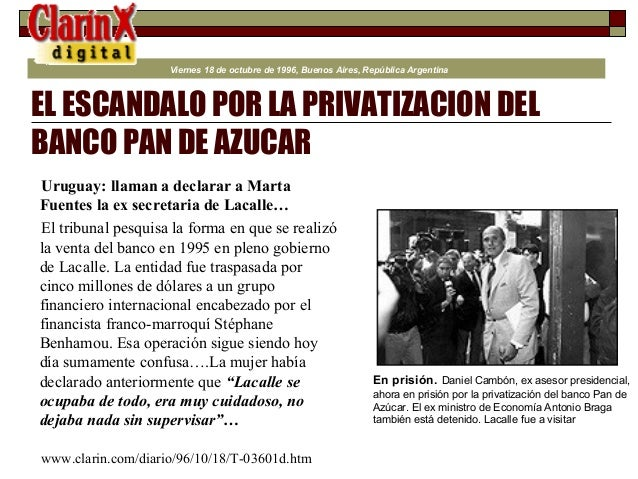 China privatiza sus empresas del estado! Menem Wins!!