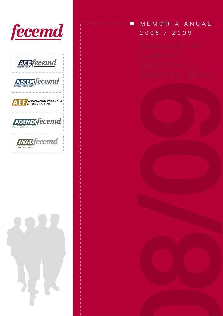 Memoria Anual FECEMD 2008-2009