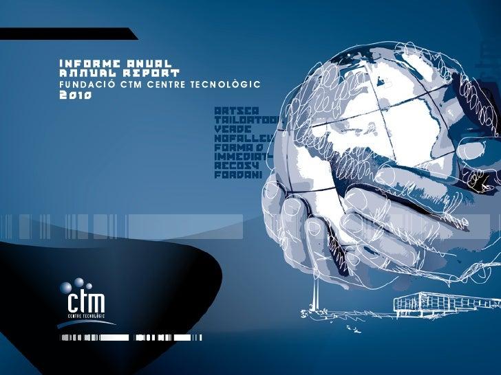 Fundació CTM Memoria 2010 eng