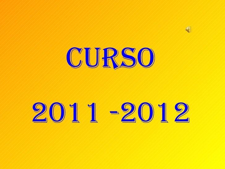 Curso2011 -2012