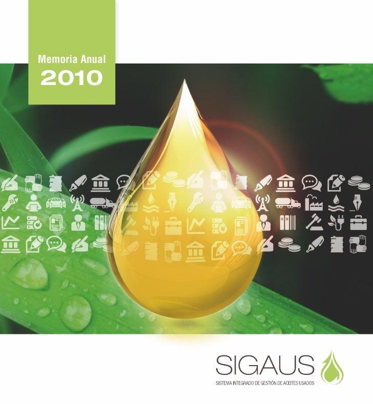 Memoria SIGAUS 2010