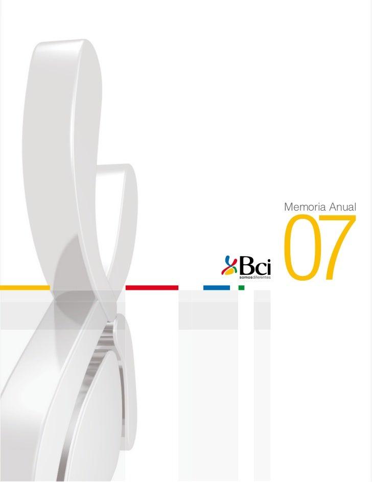 Memoria Anual07