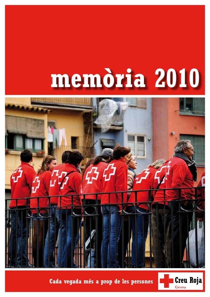 Memoria Creu Roja a Girona 2010