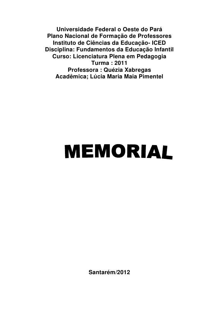Memorial Lúcia Maia
