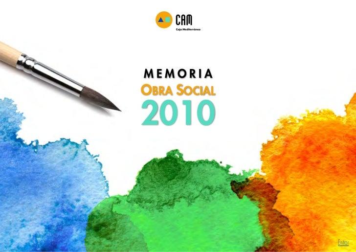 MEMORIAOBRA SOCIAL2010              Entrar