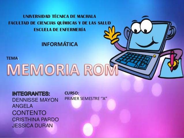Memoria rom grupo 4