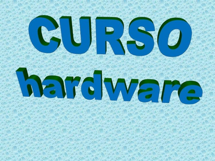CURSO<br />hardware<br />