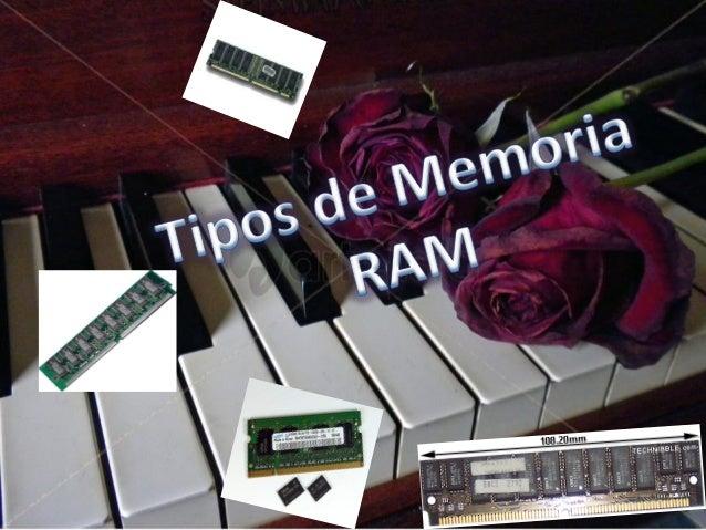 MEMORIA RAM  se puede acceder de forma aleatoria; esto es, se puede acceder a cualquier byte de la memoria sin pasar por l...