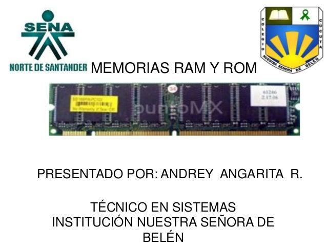 Memorias ram y rom (1)