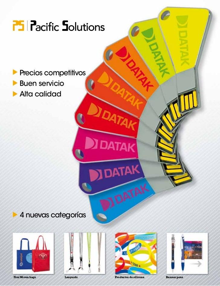 Precios competitivos   Buen servicio   Alta calidad    4 nuevas categoríasNon Woven bags   Lanyards   Productos de silicon...
