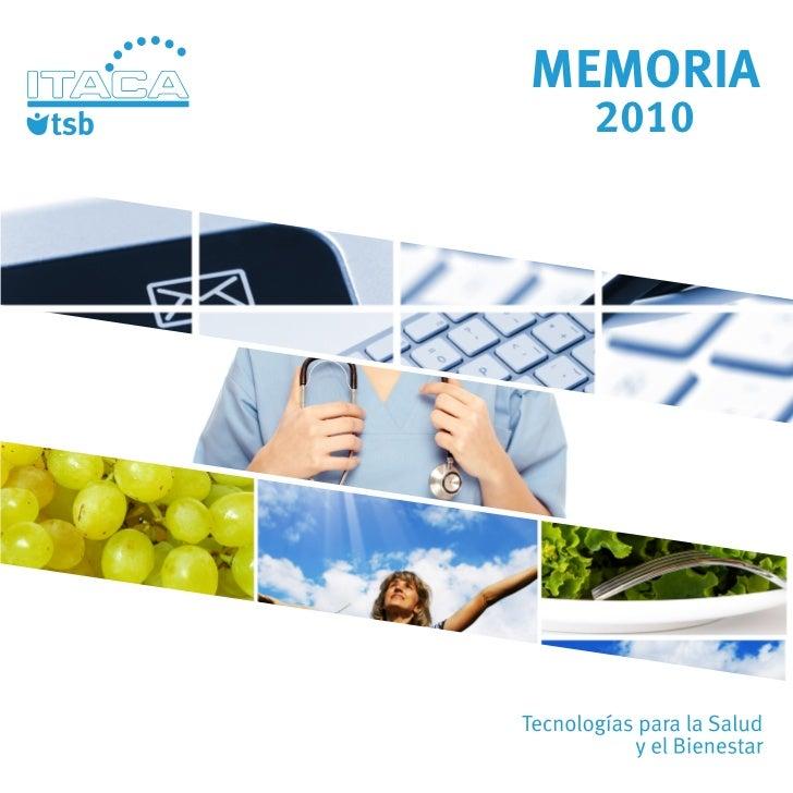 Memoria TSB 2010