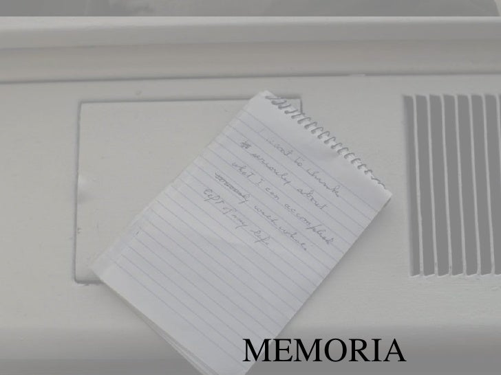 MEMORIA<br />