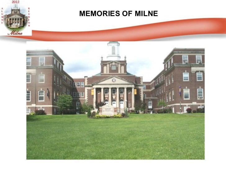 MEMORIES OF MILNE
