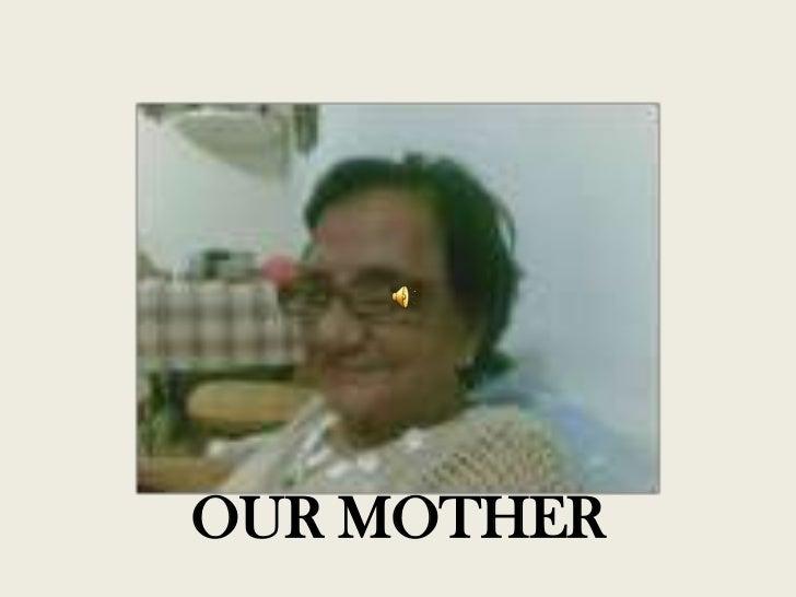Memories of mum
