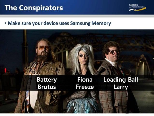 Samsung Analyst Day 2013: Memory Dong-Soo Jun Memory Business