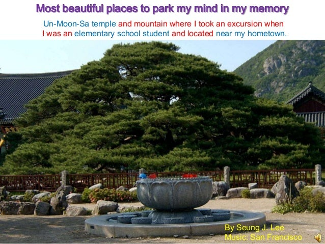 Most beautiful places to park my mind in my memory  Un-Moon-Sa temple and mountain where I took an excursion when I was an...