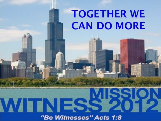 Mission Witness 2012