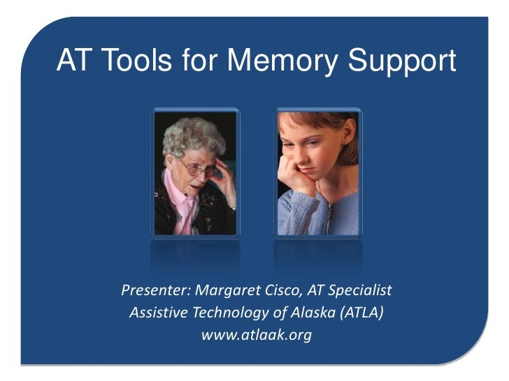 AT Tools for Memory Support