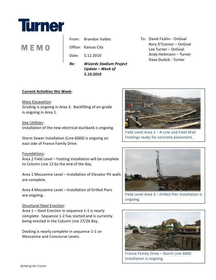 Construction Update 5-12-2010