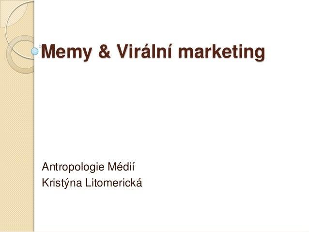 Memy&viralni marketing