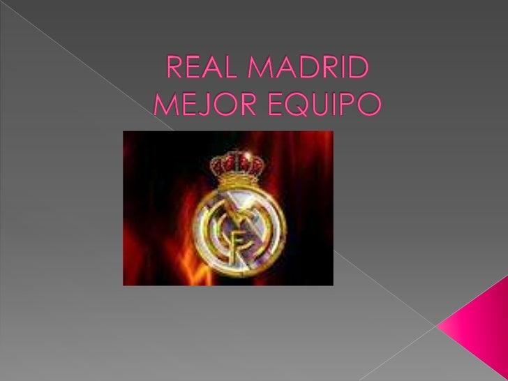 El Real Madrid Club de Fútbol, más conocido como Real Madrid, es una entidad polideportiva con sede en la ciudad de Madrid...