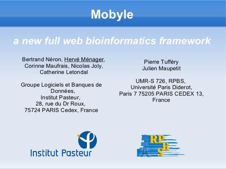 Menager Mobyle Bosc2008