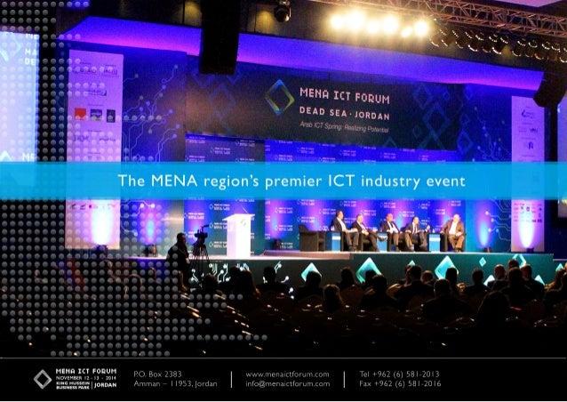 MENA ICT Forum - November 2014
