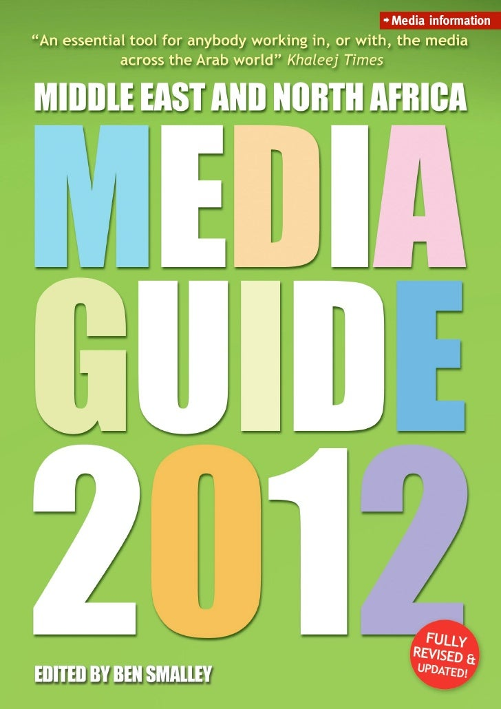 Middle East Media Guide 2012