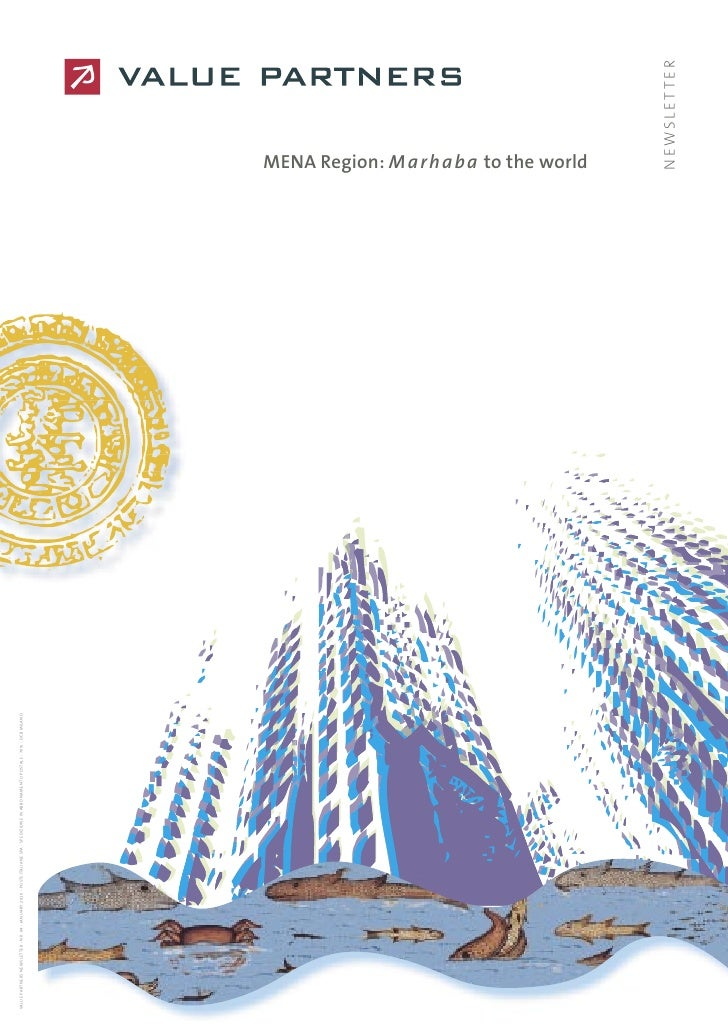 MENA Region: Marhaba to the world - Value Partners newsletter, January 2010
