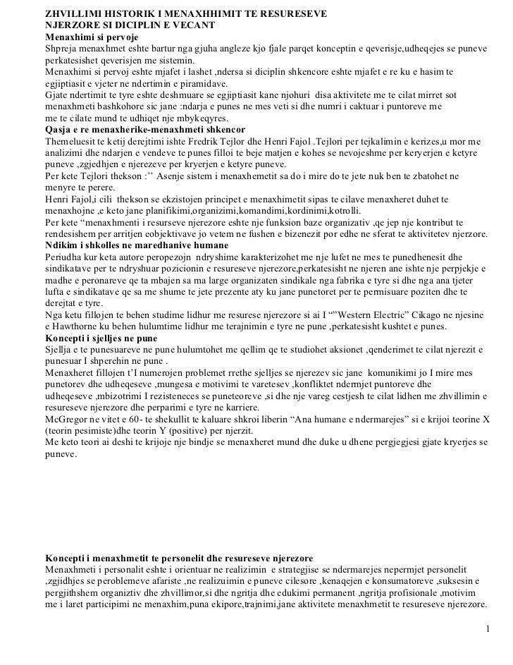 Menaxhimi i resureseve njerzore1111
