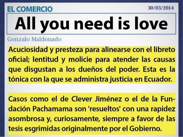 Mención Gonzalo Maldonado All you need