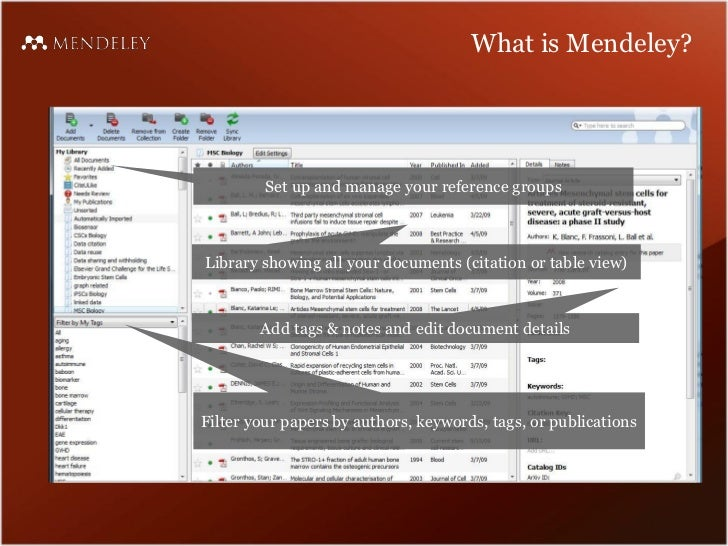 Papers mendeley