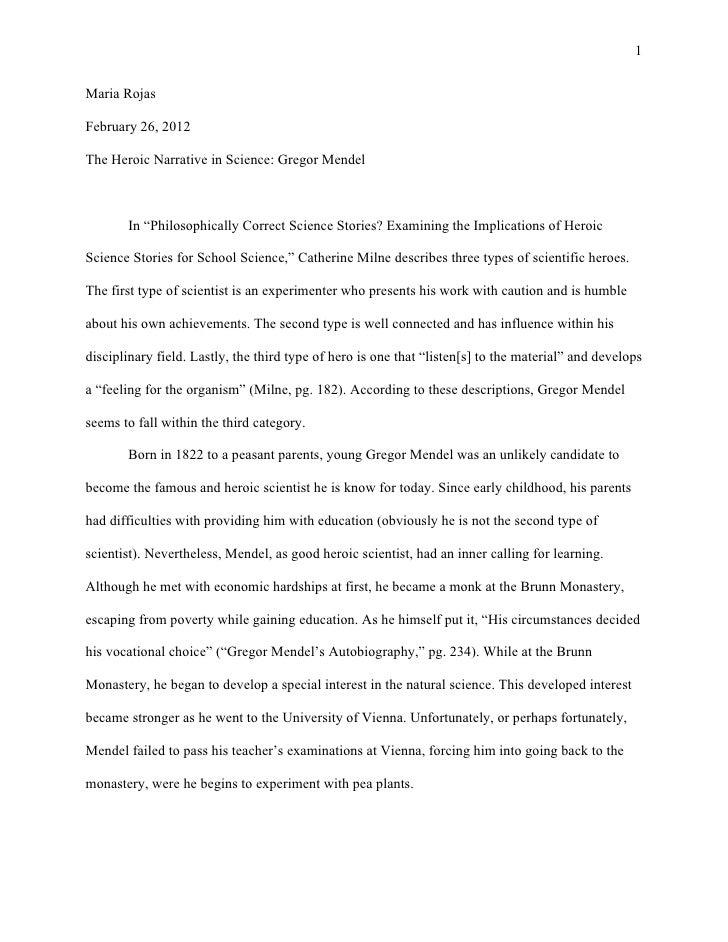 Mendel's paper