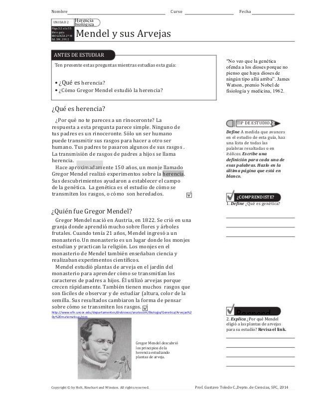 Nombre UNIDAD  2 Págs.52  a  la  55   libro  guía     BIOLOGÍA  2º  M   Ed.  SM,  2012    Curs...