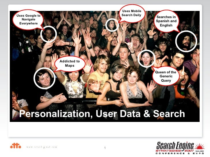 Personalization, User Data & Search Uses Mobile Search Daily  Searches in Spanish and English Queen of the  Generic Query ...