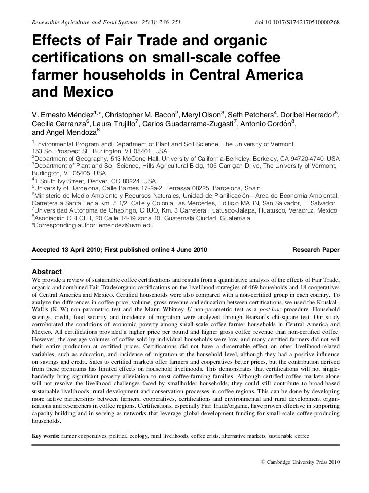 Renewable Agriculture and Food Systems: 25(3); 236–251                                             doi:10.1017/S1742170510...