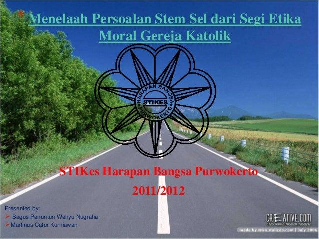 Menelaah persoalan stem sel dari segi etika moral2