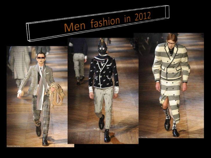 Men  fashion  in  2012