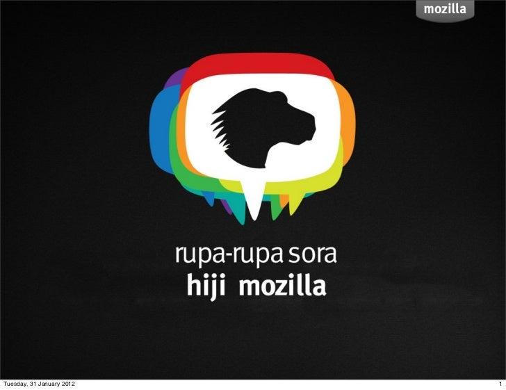 GALOWIT 2012 : Mengenal Mozilla Lebih Dekat