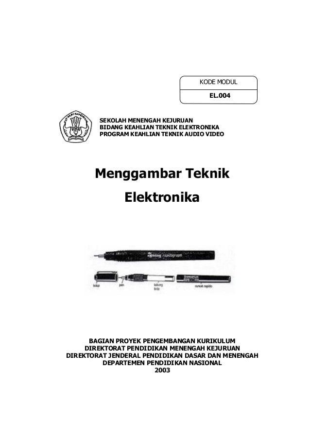 Menggambar teknik elektronika