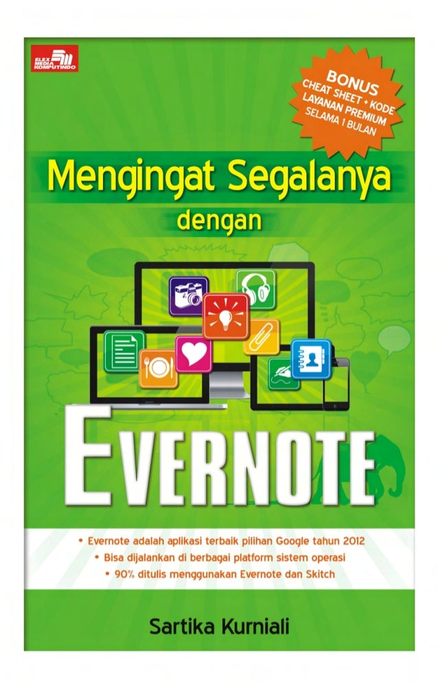 Mengingat Segalanya dengan Evernote [Cuplikan Buku]