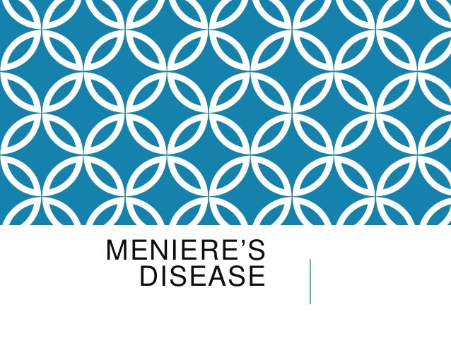 Meniere disease